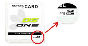 os pour supercard ds one